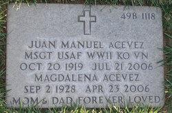Juan Manuel Acevez