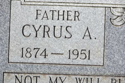 Cyrus Andrew Halbert
