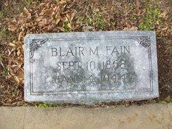 Blair M. Fain