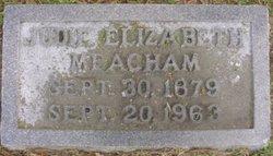 Judith Elizabeth Judie <i>Bolton</i> Meacham