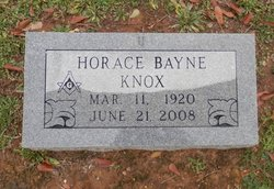 Horace Bayne Mutt Knox