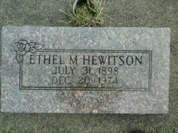 Ethel M. Hewitson