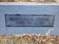 Mamye <i>Blye</i> Sharpe