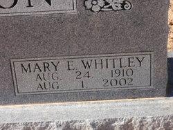 Mary Ellen Maide <i>Whitley</i> Morton