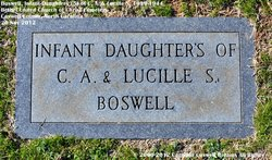 Infant Daughter Boswell