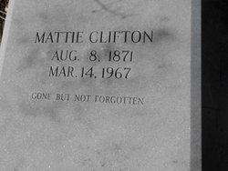 Martha Mattie <i>Robertson</i> Clifton