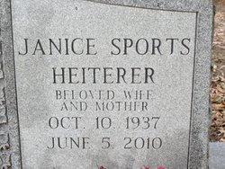 Janice Carroll <i>Sports</i> Heiterer