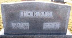 Mattie Lou <i>Harris</i> Faddis
