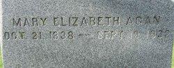 Mary Elizabeth <i>Alder</i> Agan
