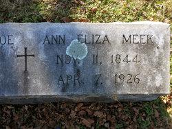 Ann Eliza <i>Meek</i> Yoe
