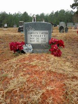 Carolyn <i>Carter</i> Winslett