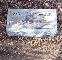 Ann Rebecca <i>Walker</i> Jordan