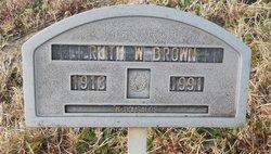 Ruth <i>Winn</i> Brown