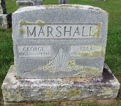 Ella M. <i>Dikeman</i> Marshall