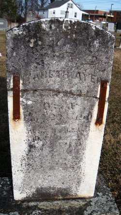 Elizabeth Bettie <i>Gravely Tolbert</i> Ayers
