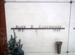 Alice Dean Allie <i>Howell</i> Cartwright
