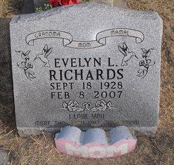 Evelyn L <i>Ludlum</i> Richards
