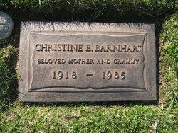 Christine Eloise <i>Lawrence</i> Barnhart