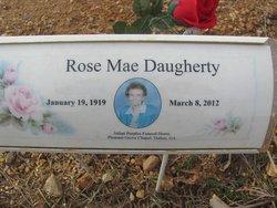 Rose Mae <i>Cook</i> Daugherty