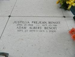 Justillia M. <i>Prejean</i> Benoit