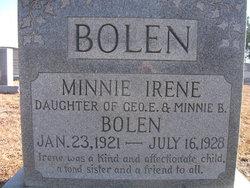 Minnie Irene Bolen