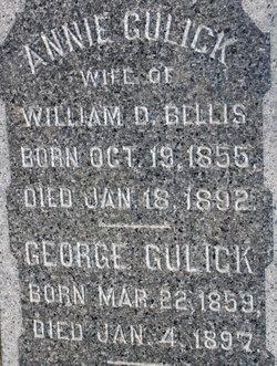 Annie <i>Gulick</i> Bellis