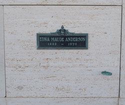 Edna Maude Anderson