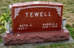 Harold J Tewell