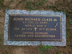LTC John Richard J.R. Glass, Jr