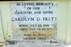 Carolyn D Frett