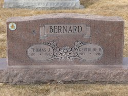 Gertrude Maxine <i>Bradshaw</i> Bernard