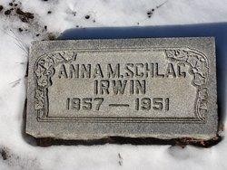 Anna M <i>Schlag</i> Irwin
