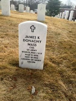 Col James K Donaghy