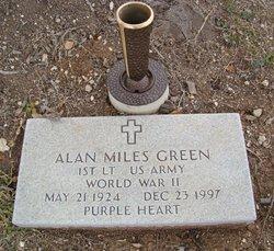 Alan Miles Green