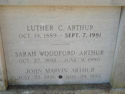 John Marvin Arthur