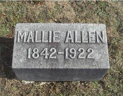 Amanda Malvina Mallie <i>Pearl</i> Allen