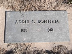Addie <i>Coleman</i> Bonham