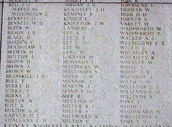 Private James William Kniveton