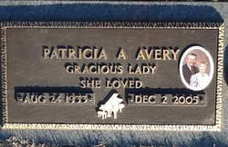 Patricia Ann <i>Terpstra</i> Avery