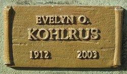 Evelyn O. Kohlrus