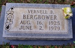 Vernell B. <i>Blackerby</i> Bergbower