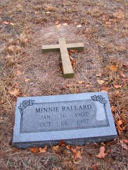 Minnie <i>Smith</i> Ballard
