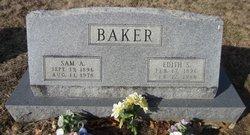 Samuel Alvin Sam Baker