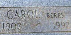 Cynthia Caroline Carol <i>Berry</i> Barrett