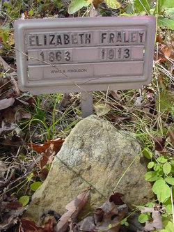 Elizabeth Belle <i>Rucker</i> Fraley