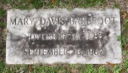 Mary <i>Davis</i> Barefoot