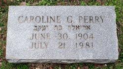 Caroline Dorothy <i>Geschmay</i> Perry