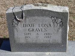 Dixie Lona <i>Cureton</i> Graves