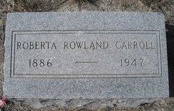 Roberta <i>Rowland</i> Carroll
