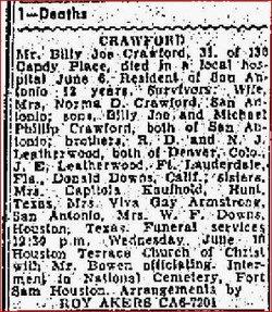 Billy Joe Crawford